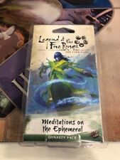 Legend of the Five Rings LCG Dynasty Pack: Meditations on the Ephemeral