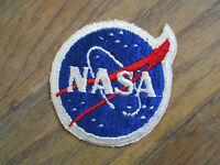 vintage 1963 NASA Vector Patch Employee Only Astronaut Assistant USA Made medium
