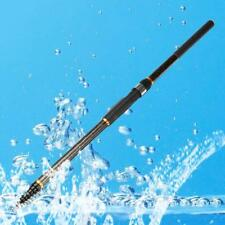 4.5m Portable Carbon Fiber Telescopic Spinning Casting Poles Fishing Rods New UP