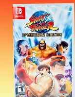 STREET FIGHTER 30th Anniversary Collection Nintendo Switch New Arcade Game Retro