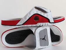 NIKE AIR JORDAN HYDRO XIII RETRO WHITE-BLACK-TRUE RED-GREY SZ 15 [684915-115]