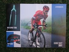 NEW 2017 ORBEA CYCLE TRIATHLON ROAD MOUNTAIN BIKE FOLD OUT POSTER CATALOGUE