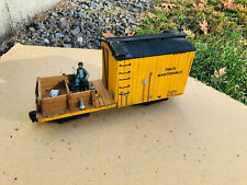 G Scale Homemade Wooden Track Maintenance Car