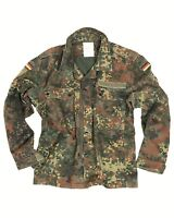 Genuine German Army Bundeswehr Flecktarn Camo Combat Field Shirt  Grade 1