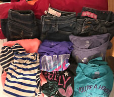 Girls Clothing Lot Of 10 (Sz 10/12) Shirt/Jean/Snowpants-Land End/Old Navy/Other
