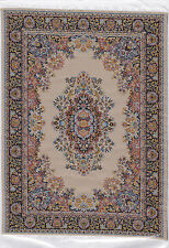 Dolls House Miniatures 1/12th Beige D699A Turkish Rug 15x 23cms