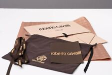Roberto Cavalli Magnetic Empty Box with Dust Bag, Ribbon & Tissue Paper