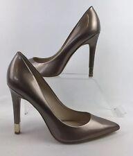 "GUESS Size UK 7.5 US 10m Gold Metallic Heels 4.5"" Heel"