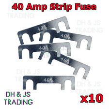 10 x 40A Amp Strip Fuse Link Midi Diesel Glow Plug Relay Classic Car Truck TVR