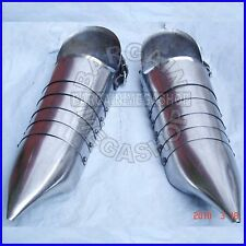 Medieval Armour Pointed Toe Sabaton, 14th Century Re-enactment Shoes, 18 Guage