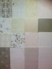 16 SHEET TASTER PACK FIRST EDITION THE PROMISE 8 x 8 CARD MAKING CRAFT PAPER
