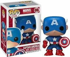 Funko Pop Vinyl Captain America Figure 06 Bobble Head