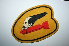552ND BOMB SQUADRON 8TH AAF A2 JACKET PATCH 386TH GROUP EXCELLENT REPLICA