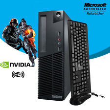 Business Desktop PC 1TB Nvidia GT 1030 HDMI 3.2Ghz 16GB RAM Wi-Fi Win10 Computer