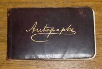 Antique 1884 Autograph Book - Marshall J. Reynolds - West Chester Pennsylvania