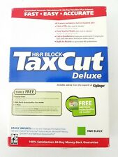 Tax Cut Deluxe 2004 Tax Cut with State.