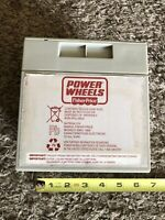 Power Wheels Fisher Price 12 Volt Battery Grey 00801-1869 Still Holds Charge
