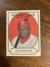 New listing RYAN HOWARD 2005 TOPPS CRACKER JACK ROOKIE CARD PHILADELPHIA PHILLIES RC #182