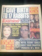 Falcon Crest Soap Opera GINA LOLLOBRIGIDA Dynasty '84 National Examiner Magazine