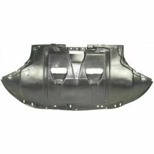 New AU1228102 Black Engine Splash Shield For Audi A4 / A4 Quattro 2004-2009