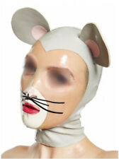 Lobo Gris máscaras de goma Adulto Sofisticado Vestido Halloween