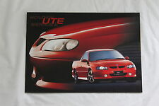 HOLDEN VU COMMODORE  UTE  SALES BROCHURE S SS 50TH ANNIVERSARY