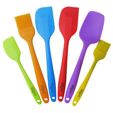 New listing Laxinis World Silicone Spatula Utensil Set of 6 - Premium Backing Supplies Set