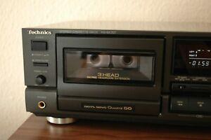 Technics RS BX 707 Kassettendeck Tape Deck 3 Kopf Kassettenrecorder Cassetten