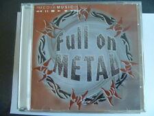 MEDIA MUSIC FULL ON METAL  RARE LIBRARY SOUNDS CD