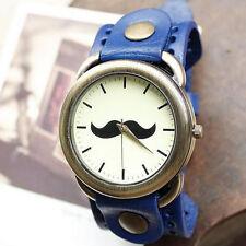 Reloj BIGOTE bigotes Azul Moustache mustache watch  A1530