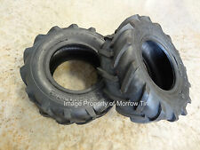 TWO New 16X6.50-8 Deestone Tractor Lug Tires R-1 4ply DS5291 includes free stems