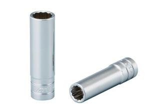 KTC 6.3sq. Deep socket (12-sided) 9mm B2L-09W Japan