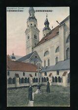 Italy BRESSANONE Duomo Church monks c1900/10s? PPC by Stengl