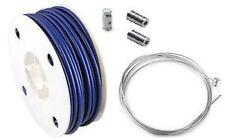 Pack /Kit / Ensemble gaine Bleu et cable Accélérateur/Gaz Peugeot 103