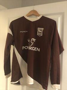 Ipswich Town Football Club Goalkeeper Shirt - Extra Large Boys - Child's