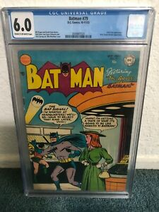 Batman #79 CGC 6.0 Cream to Off-White pages
