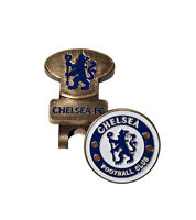 Official Chelsea FC Golf headcover Putter Cover Ball marker Divot toll Hat Clip