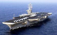 USS NIMITZ 8X10 PHOTO CG-20 NAVY US USA MILITARY SHIP NUCLEAR POWER AIR CARRIER
