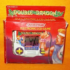 VINTAGE 1988 TIGER ELECTRONIC DOUBLE DRAGON HANDHELD LCD VIDEO GAME BOXED RARE