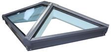 Korniche Roof Lantern Glass Skypod Skylight Grey on Grey Frame  FREE DELIVERY