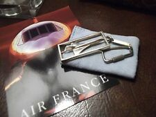 1 Concorde Air France In-Flight Gift Silver Key Ring Given to Passenger as Gift.