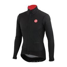 Giubbino Castelli Alpha Jacket invernale Winter Windstopper Antivento Nero L