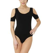 Maglie e camicie da donna Body nero in misto cotone
