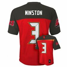 (2017-2018) Tampa Bay Buccaneers Bucs JAMEIS WINSTON nfl Jersey YOUTH (L-LARGE)