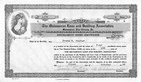 The Matamoras Building And Loan Association Installment Share Certificate