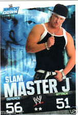 Slam Attax Smack Down - Slam MASTER J