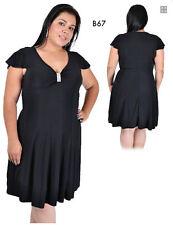 B67 Black Womens Size 14/16 Formal Evening Cocktail Party Clubwear Elegant Dress