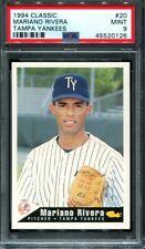 1994 Classic Tampa Yankees Mariano Rivera #20 Rookie RC PSA 9