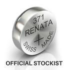 Renata 371 Watch Battery / Cell - SR920SW 1.55V Mercury Free + UK FREEPOST