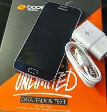 SALE! Samsung Galaxy S6 G920P 32GB Black Sapphire Boost Mobile Smartphone w/Sim
